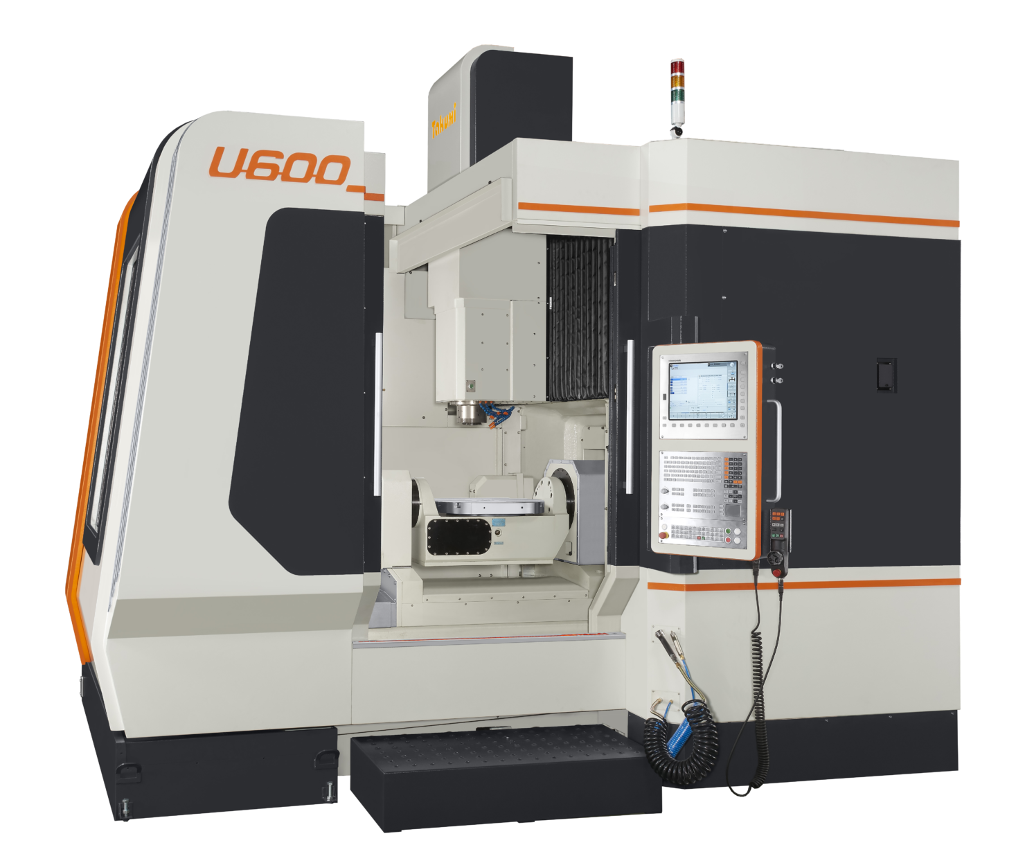 Takumi U 600: 5-axis Machining Center with Heidenhain control for Die & Mold.
