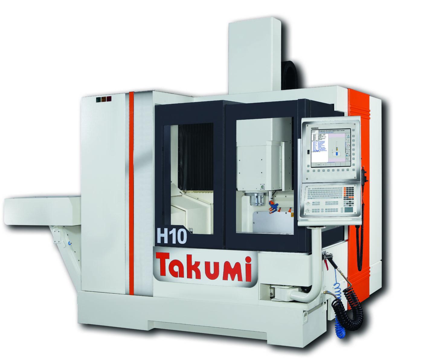 Takumi H10: 3-Achs-BAZ withHeidenhain Control for Die & Mold