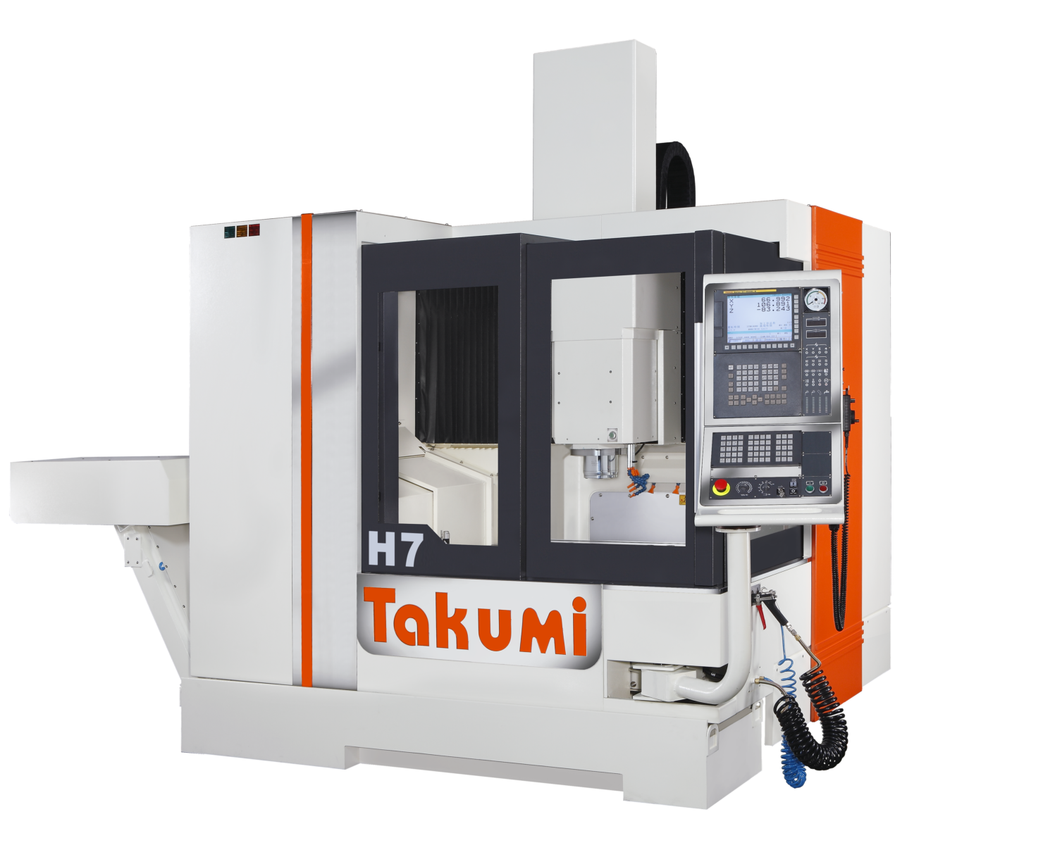 Takumi H7: 3-axis Machining Center  with Heidenhain-Control for Die & Mold.